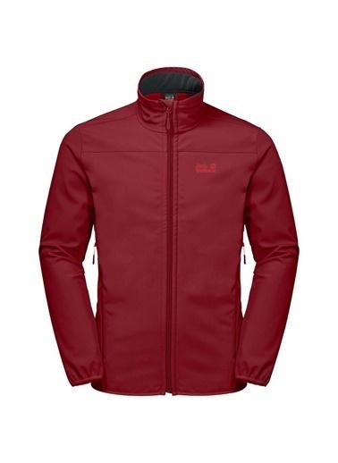 Jack Wolfskin Northern Point Softshell Erkek Rüzgarlık - 1306351-2027 Kırmızı